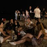 Barcelona's Beaches Fill Up On First Night With New Restrictions Of Project1199